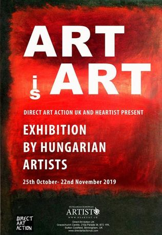 Hungarian European Artist /Heartist at Direct Art Action UK: Image 0