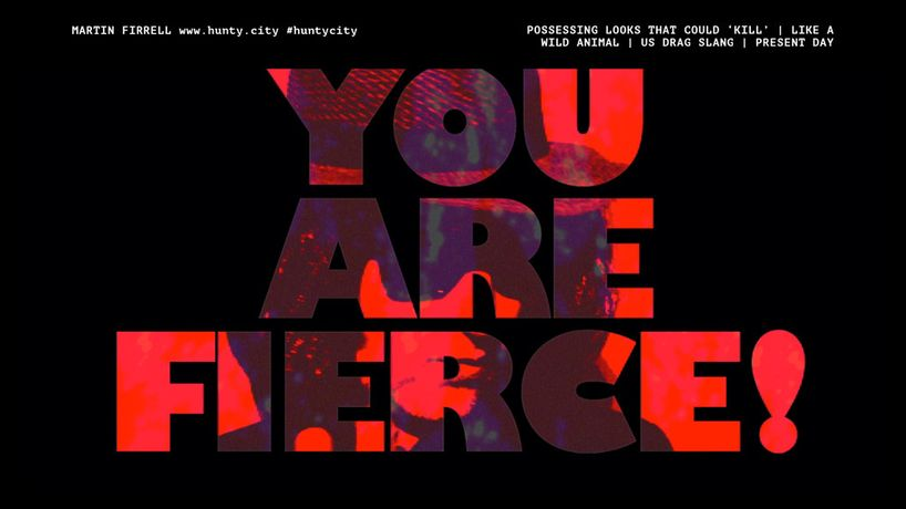 'You are Fierce!' from Hunty CIty by Martin FIrrell