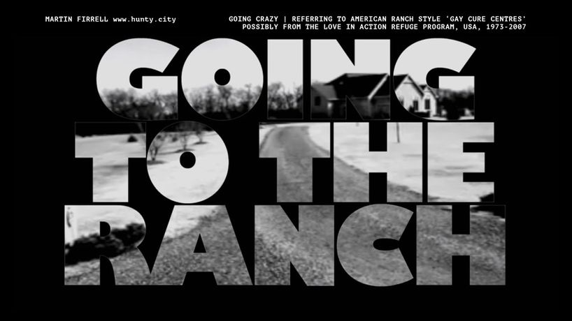 'Going to the Ranch' from Hunty City by Martin Firrell