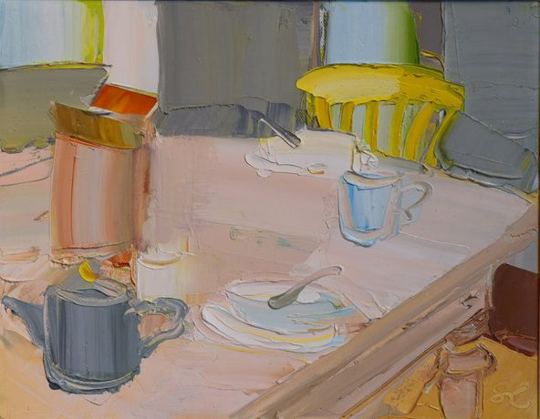Sarah Carvell - Breakfast Table