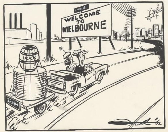 John Frith, Welcome to Melbourne, National Library of Australia, nla.obj-153021492.