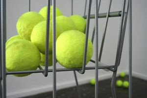 I shave tennis balls rather than blend vegetables