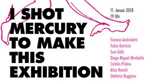 I shot Mercury to make this exhibitio