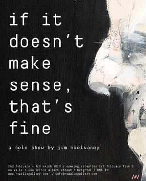 If It Doesn't Make Sense, That's Fine by Jim McElvaney