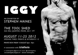IGGY - A sculpture by Stephen Haines.