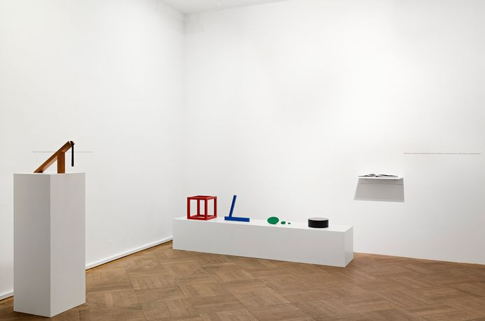 Iman Issa Material (2017) Installation view, Bielefelder Kunstverein. Photograph by Philipp Ottendörfer