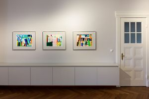 Drawing Room, Imi Knoebel, Garden Images, Installation view