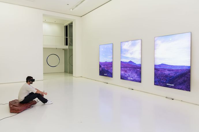 In A World Where Immortality Is The Norm, The Future Is My Future, Installation view