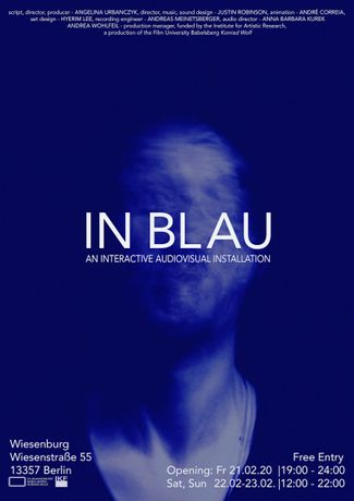 In Blau - An Interactive Audiovisual Installation: Image 0