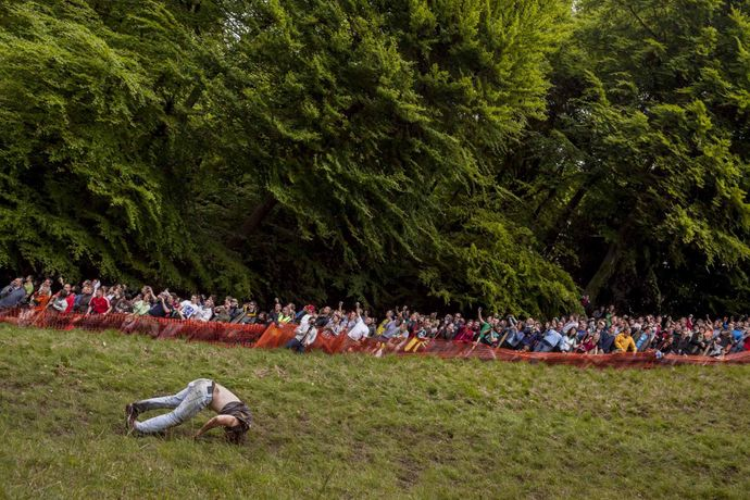 Cooper's Hill Cheese-Rolling and Wake, Gloucestershire