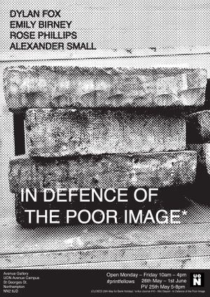 In Defence of the Poor Image