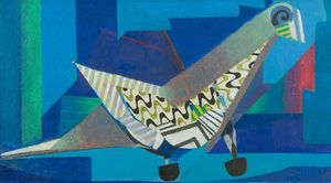 Eileen Agar, Pigeon Post, 1969 © The Estate of Eileen Agar / The Bridgeman Art Library