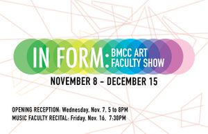 In Form: BMCC Faculty Art Show