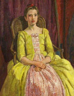 Henrietta, Vanessa Bell, 1955, oil on canvas, 72 x 54cm, courtesy RWA, copyright Estate of Vanessa Bell, courtesy Henrietta Garnett