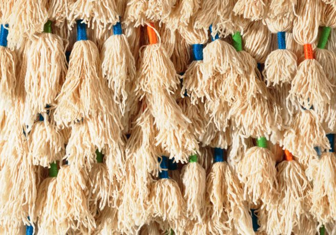 Sheila Hicks: prayer rug, 1927; wool, 250 x 125 cm; © courtesy of the artist and Demisch Danant
