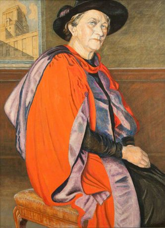 Dorothy Christian Hare (1876–1967) by Fred Whicker (c) RCP