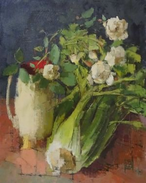Jill Barthorpe Celery with Roses