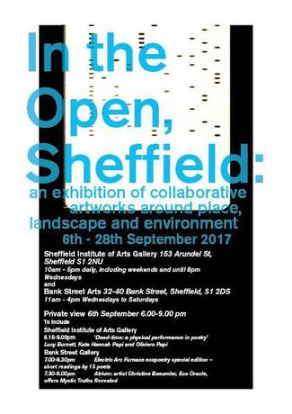 In the Open, Sheffield: