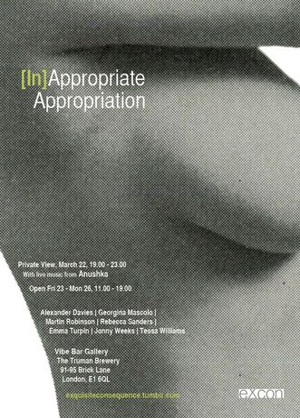 [In]Appropriate Appropriation - Vibe Bar Gallery: Image 0