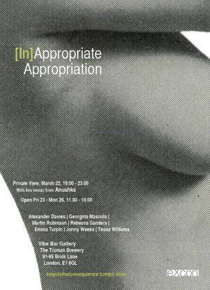 [In]Appropriate Appropriation - Vibe Bar Gallery
