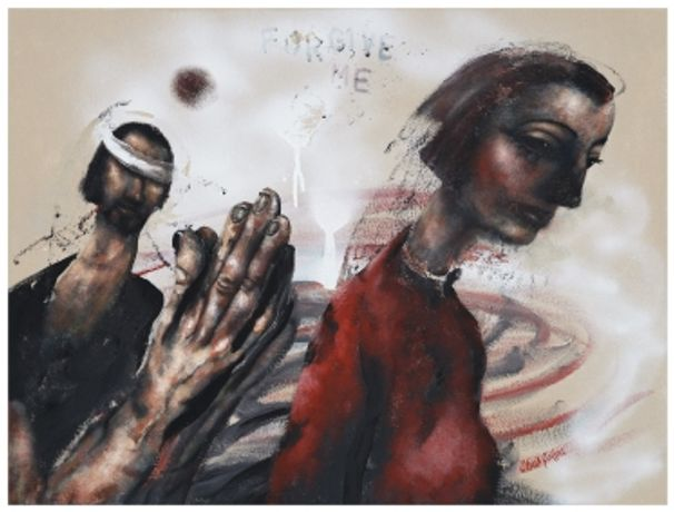 'Incarnation, Mary & Women from the Bible' new paintings by Chris Gollon: Image 0