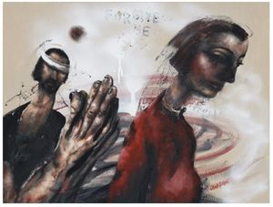 'Incarnation, Mary & Women from the Bible' new paintings by Chris Gollon