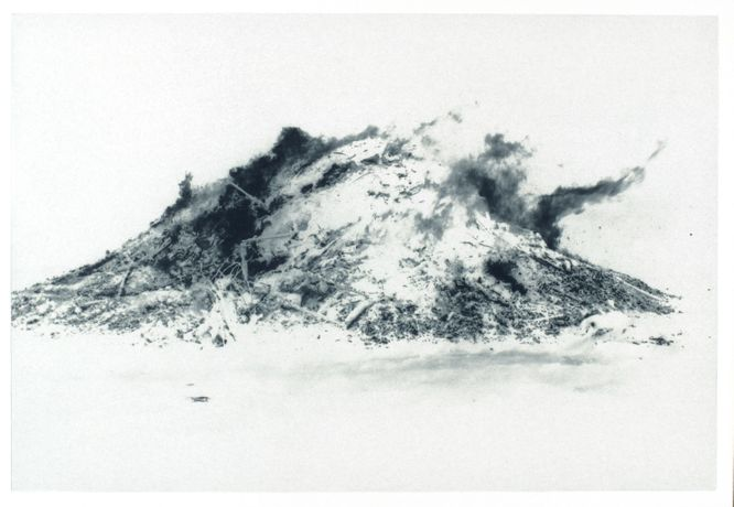 Olafur Eliasson, Inverted Campfire Series, 2006, photogravure, set of 15, various sizes, ed. of 18