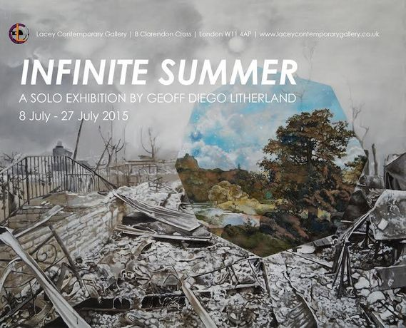 Infinite Summer: A Solo Exhibition by Geoff Diego Litherland: Image 0