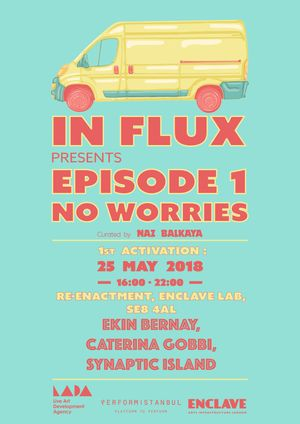 In-Flux Presents Episode.1 No Worries​ co-organised by Performistanbul​