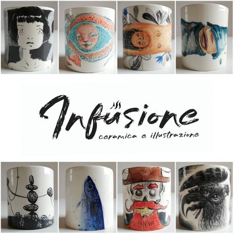 Infusione Ceramic and Illustration: Image 0