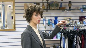 Miranda July at her interfaith charity shop in Selfridges