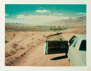 Valley of the Gods, Utah, 1977 © Wim Wenders Courtesy Deutsches Filminstitut Frankfurt