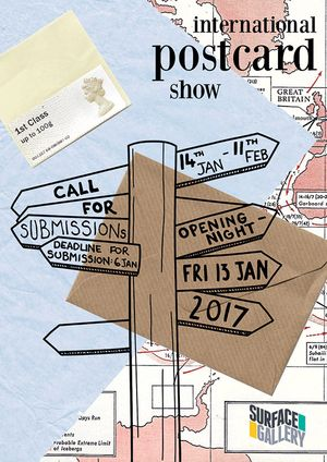 International Postcard Show 2017