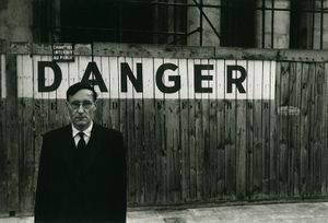William S. Burroughs by Brion Gysin, 1959