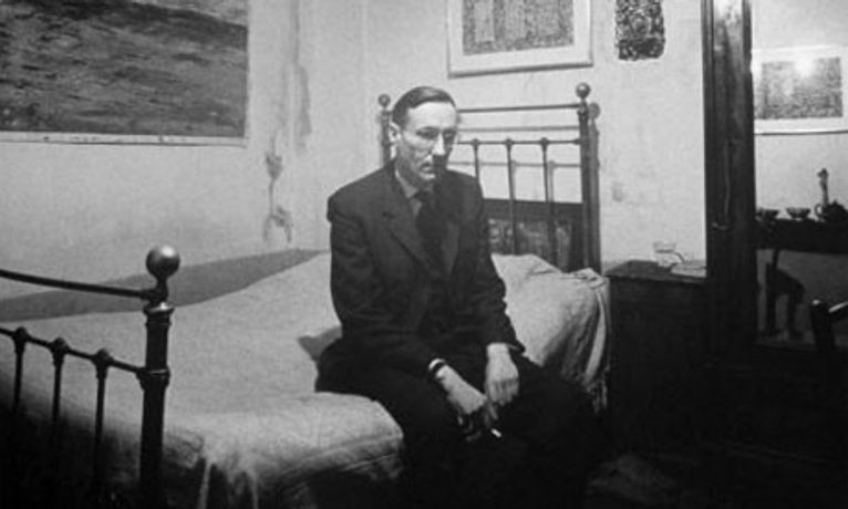 William S. Burroughs by Loomis Dean, 1959.