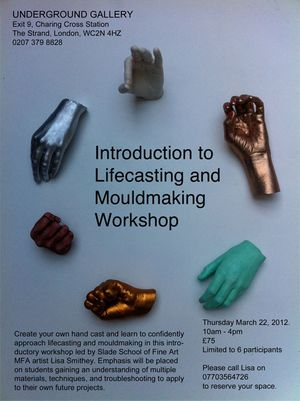 Introduction to Lifecasting and Mouldmaking Workshop