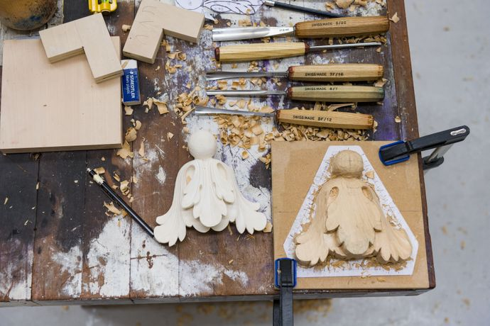 Introduction to Ornamental Woodcarving, 6-10 July 2020