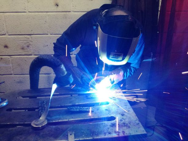 Learning how to MIG weld