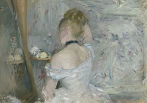 Berthe Morisot, Woman at Her Toilette, 1875-80 © The Art Institute of Chicago, Illinois, Stickney Fund