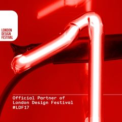 We are official partners in this years London Design Festival 2017