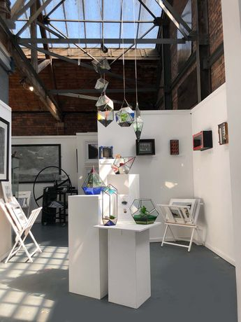 Our Main Gallery showing Artwork by Jenny Gunning, Anna Pearson and Edward Mackenzie