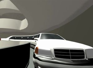 Davide Bertocchi, Limo, 2001-2002. 3d animation, 30' loop.