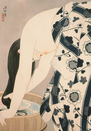 Itō Shinsui. Hair, 1952. Woodblock prints, with ink and pigments on paper © Taiyo no Hikari Foundation, Japan, 2018