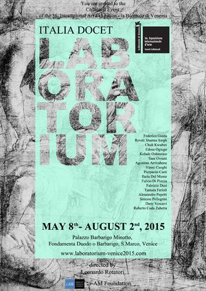 Italia Docet Laboratorium - Collateral Event of the 56 International Art Exhibition - la Biennale di Venezia