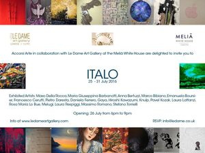 ITALO - A glimpse into the Italian Contemporary Art world
