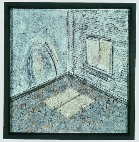 Richard Artschwager, Chair and Window, 1983