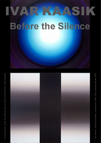 IVAR KAASIK - Before the Silence - abstract paintings 1993 - 2013: Image 0