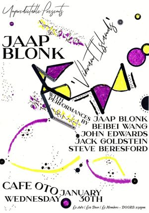 Jaap Blonk and friends at Cafe Oto