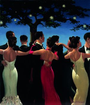 Jack Vettriano and Summer Launch