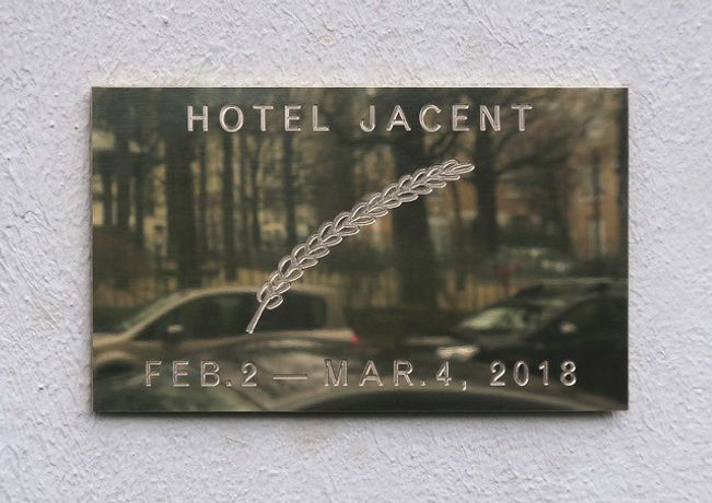 Jade Fourès-Varnier and Vincent de Hoÿm: Hotel Jacent